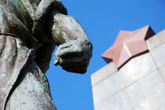 Estatua del comunismo Imagen de archivo libre de regalías