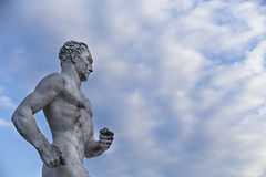 Estatua del corredor de Brighton de Steve Ovett Fotografía de archivo libre de regalías