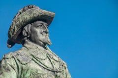 estatua del cristiano IV Fotografía de archivo libre de regalías