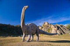 Estatua del dinosaurio gigante Fotografía de archivo libre de regalías