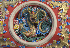 Estatua del dragón Fotos de archivo
