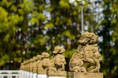 Estatua del dragón Fotografía de archivo libre de regalías