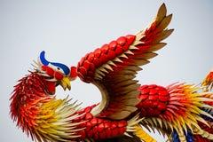 Estatua del dragón chino Fotos de archivo