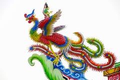 Estatua del dragón chino Imagen de archivo libre de regalías