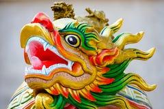 Estatua del dragón chino Fotografía de archivo libre de regalías