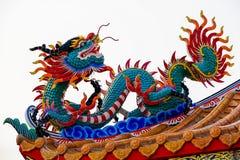 Estatua del dragón chino Imagen de archivo