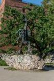 Estatua del dragón de Wawel Fotografía de archivo libre de regalías