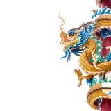 Estatua del dragón del estilo chino Fotos de archivo libres de regalías