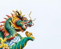 Estatua del dragón del estilo chino Foto de archivo