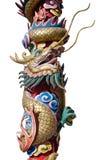 Estatua del dragón del estilo chino Imagenes de archivo
