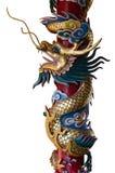 Estatua del dragón del estilo chino Fotos de archivo