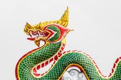 Estatua del dragón del estilo chino en Tailandia Fotografía de archivo libre de regalías