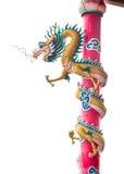 Estatua del dragón en Tailandia Foto de archivo