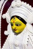 Estatua del durga de la diosa en el surajkund justo Fotos de archivo