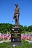 Estatua del Ejército de los EE. UU. de general Henry Hugh Shelton Imagen de archivo