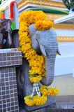 Estatua del elefante Imágenes de archivo libres de regalías