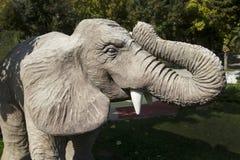 Estatua del elefante Foto de archivo libre de regalías