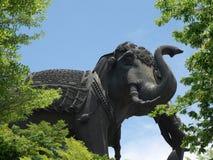 Estatua del elefante Fotografía de archivo