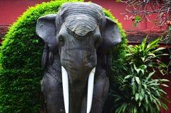 Estatua del elefante en Phnom Penh Camboya Imagen de archivo libre de regalías