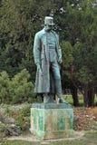 Estatua del emperador Francis Joseph I de Austria en el parque de Burggarten de Viena Imágenes de archivo libres de regalías