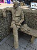 Estatua del encargado de la abeja fotografía de archivo