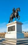 Estatua del Enrique IV en París Fotografía de archivo