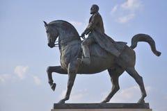 Estatua del equestrian del villancico I Imagen de archivo libre de regalías