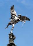 Estatua del eros en el circo de Piccadilly, Londres Fotos de archivo libres de regalías