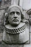 Estatua del erudito Foto de archivo libre de regalías