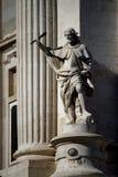 Estatua del escolar Foto de archivo