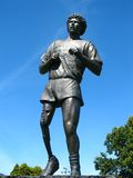 Estatua del Fox de Terry en Victoria Foto de archivo libre de regalías
