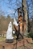 Estatua del fruend de Werner Foto de archivo