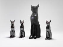 Estatua del gato Fotografía de archivo libre de regalías