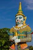 Estatua del gigante de la leyenda Imágenes de archivo libres de regalías