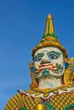 Estatua del gigante de la leyenda Imagenes de archivo
