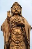 Estatua del godness Guanyin en la isla de Putuoshan Foto de archivo