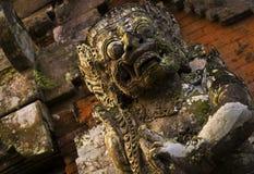 Estatua del guarda de Bali Foto de archivo libre de regalías