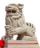 Estatua del guarda del león Fotografía de archivo libre de regalías