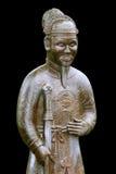 Estatua del guerrero cerca de la tumba de Minh Mang (tonalidad, VI imagenes de archivo