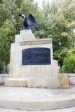 Estatua del héroe de la guerra Imagen de archivo libre de regalías