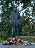 Estatua del hombre para Anzac Remembrance imagen de archivo