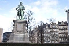 Estatua del héroe de Bruselas Imagen de archivo