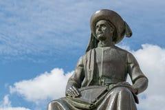 Estatua del infante Dom Henrique imagen de archivo libre de regalías