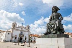 Estatua del infante Dom Henrique fotografía de archivo libre de regalías