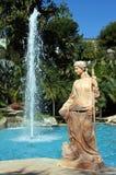 Estatua del invierno, Torremolinos. Foto de archivo