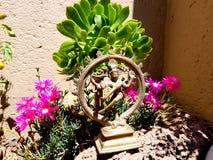 Estatua del jardín del ángel Foto de archivo
