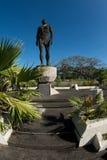 Estatua del jefe Quipuha, Hagåtña, Guam Imagenes de archivo