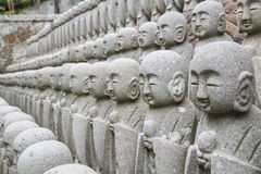 Estatua del jizo de Buda Foto de archivo