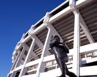 Estatua del jugador de béisbol, Atlanta, los E.E.U.U. Imagenes de archivo
