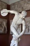 Estatua del lanzador de disco Imagen de archivo libre de regalías